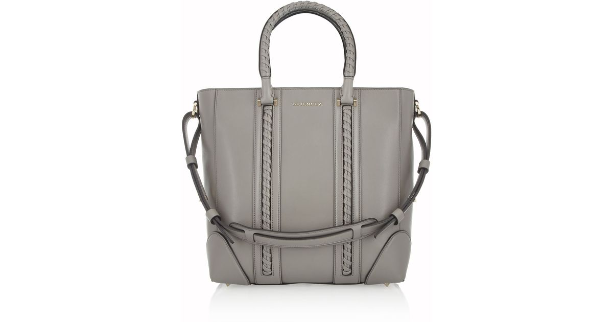 4611db6b39 Givenchy Medium Lucrezia Bag in Gray Leather in Gray - Lyst