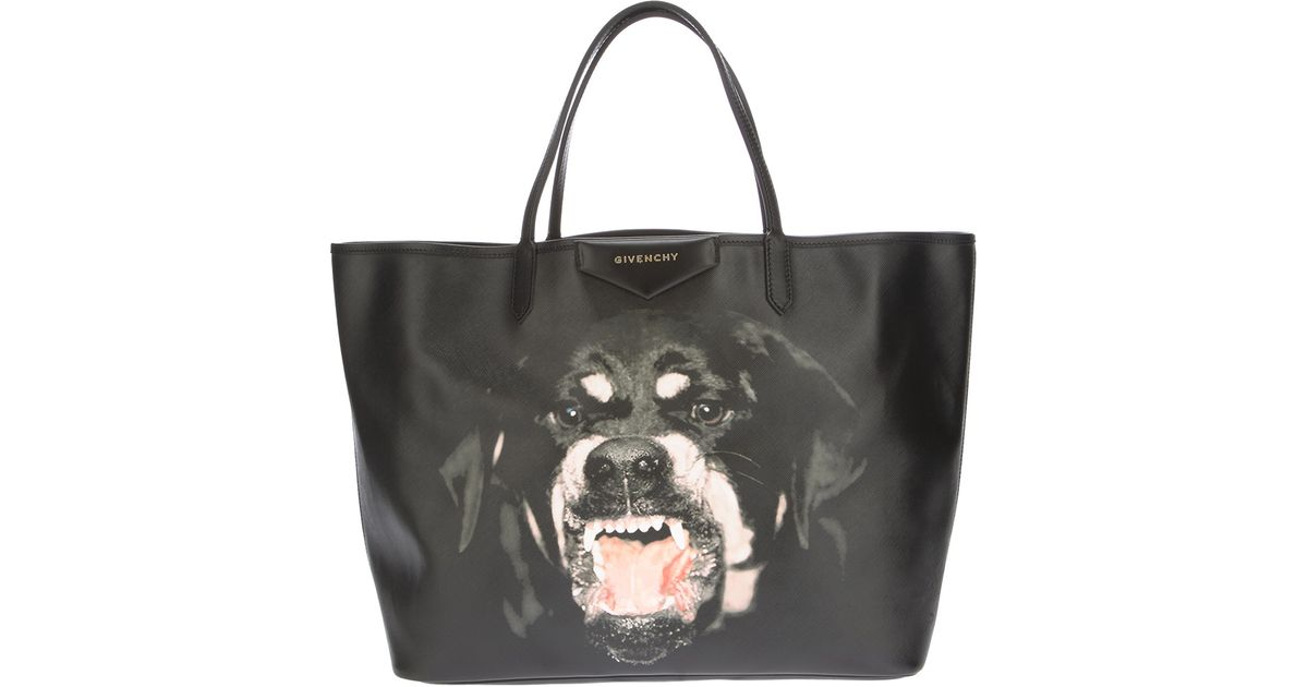 Lyst - Givenchy Antigona Large Shopping Tote in Black 5f62ad3105