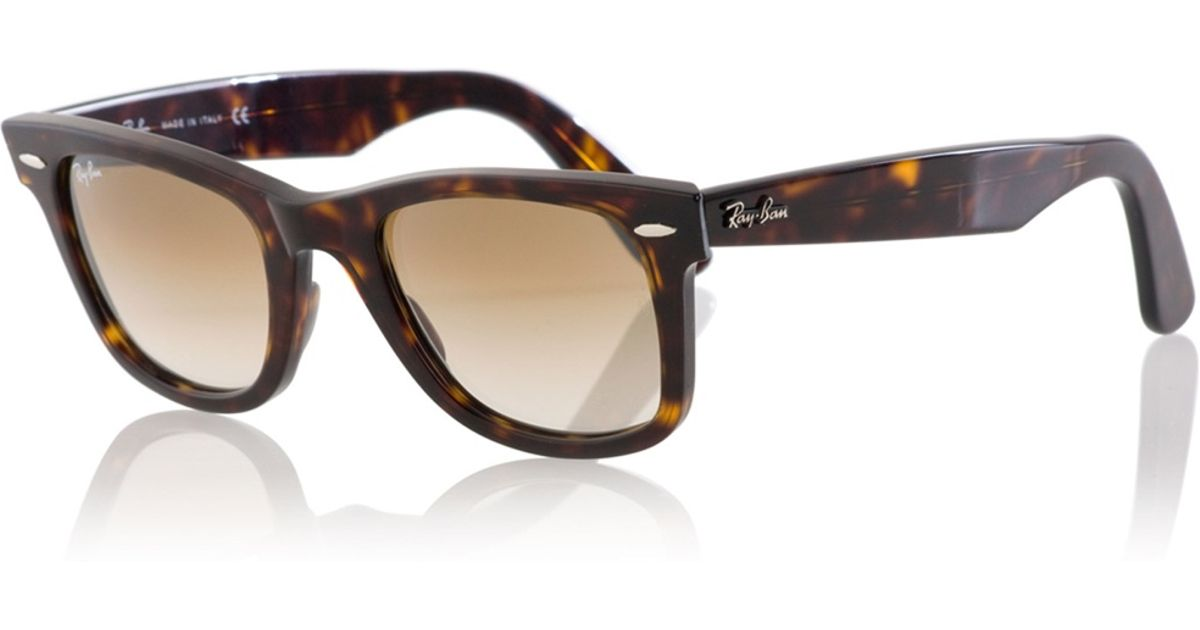 39cb32c11f Lyst - Ray-Ban  wayfarer  Sunglasses in Brown for Men