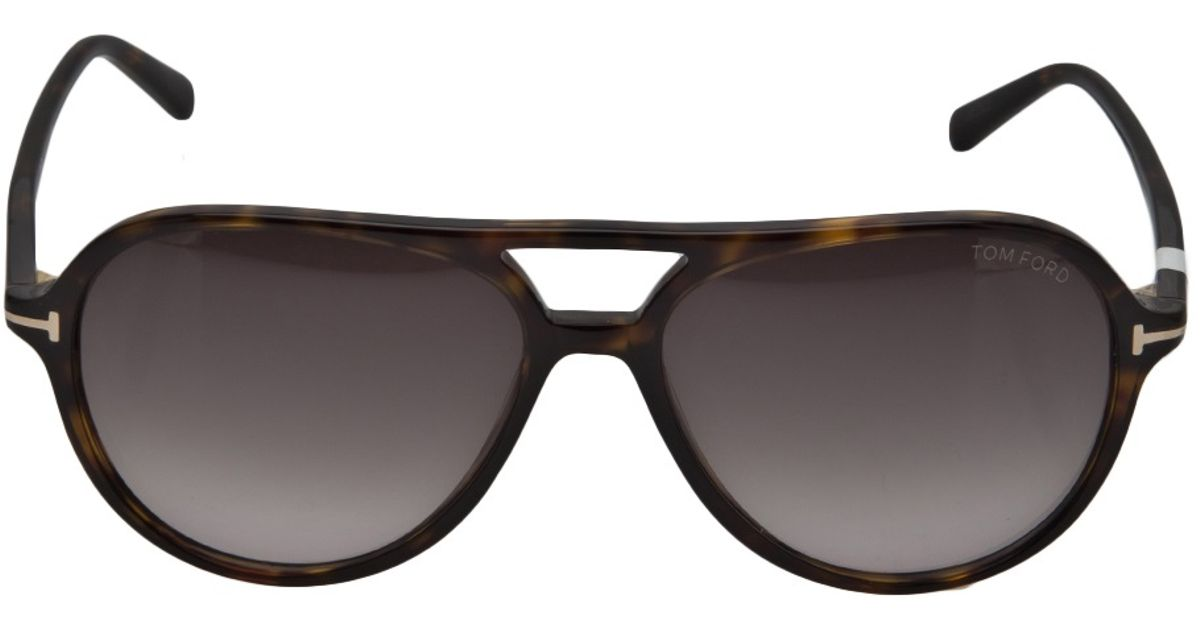 6bb336be64c Lyst - Tom Ford Jared Sunglasses in Brown