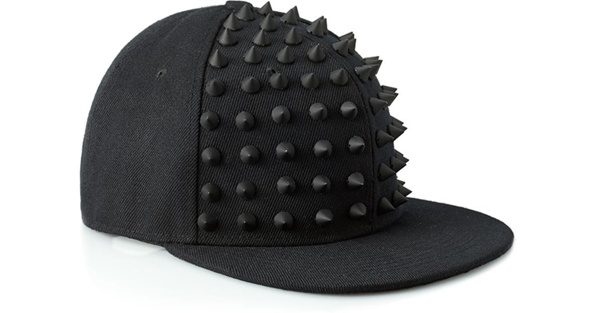Lyst - Forever 21 Spiked Snapback Hat in Black for Men 07ffdb22ea2