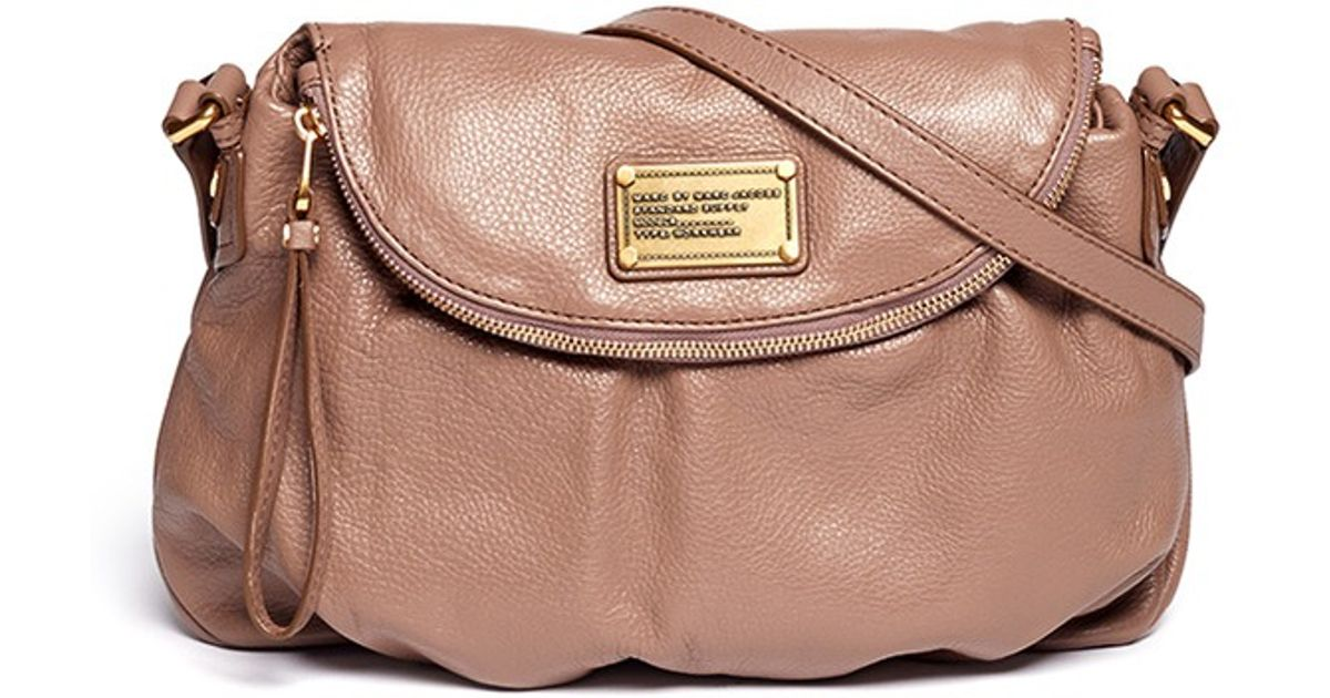 dfc80f2c5c Marc By Marc Jacobs Classic Q Natasha Crossbody Bag in Brown - Lyst