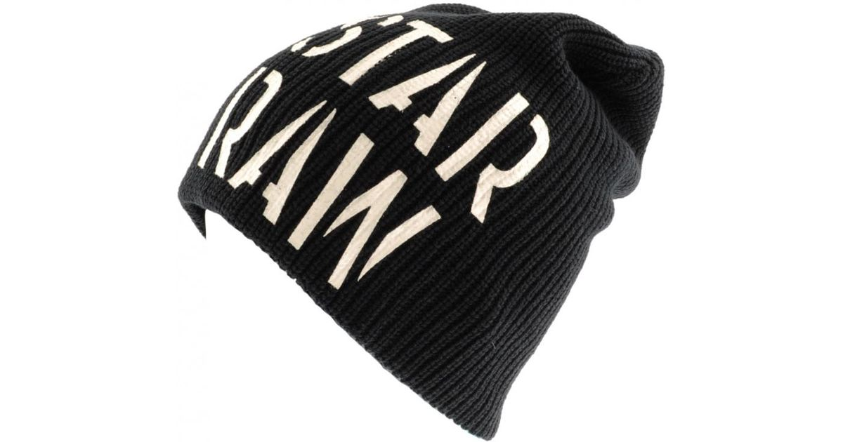 f70fda92f34 Lyst - G-Star RAW Harper Long Beanie in Black for Men