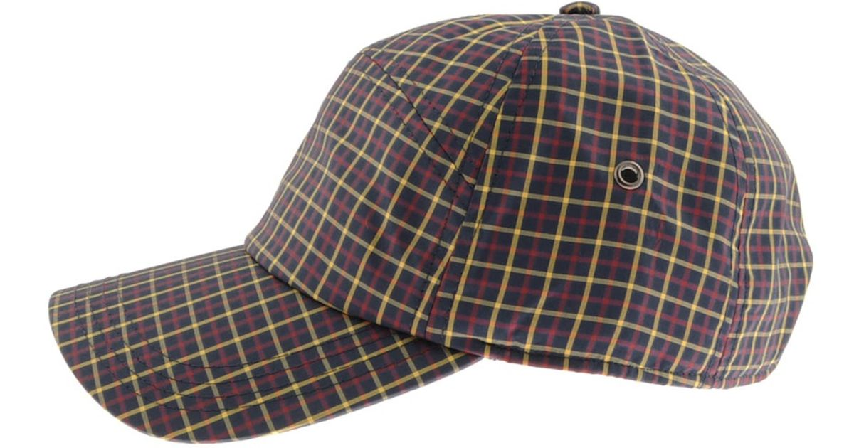 d4f5ab2d Lacoste Check Cap Marine in Blue for Men - Lyst