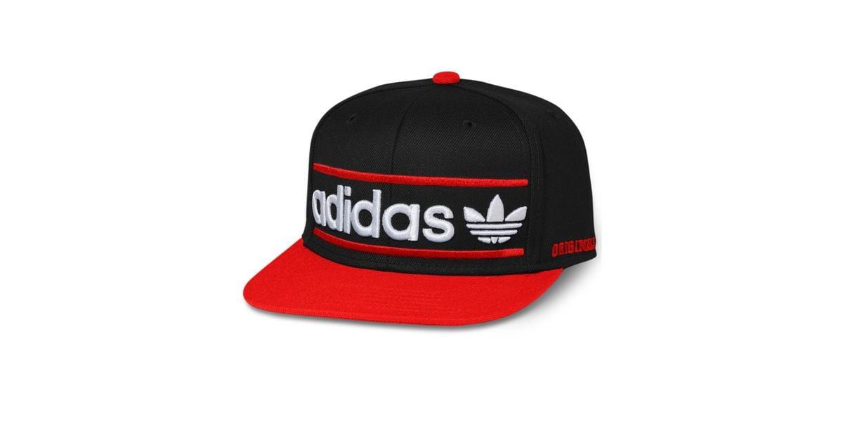c8ec04fa ... switzerland lyst adidas adi originals heritage snapback cap in black  for men 121ac 8f9fa