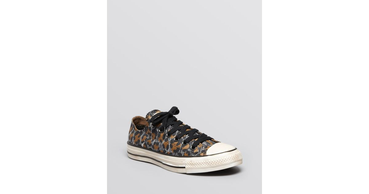 Lyst - Converse Lace Up Sneakers All Star Snow Leopard Print 01653c12a