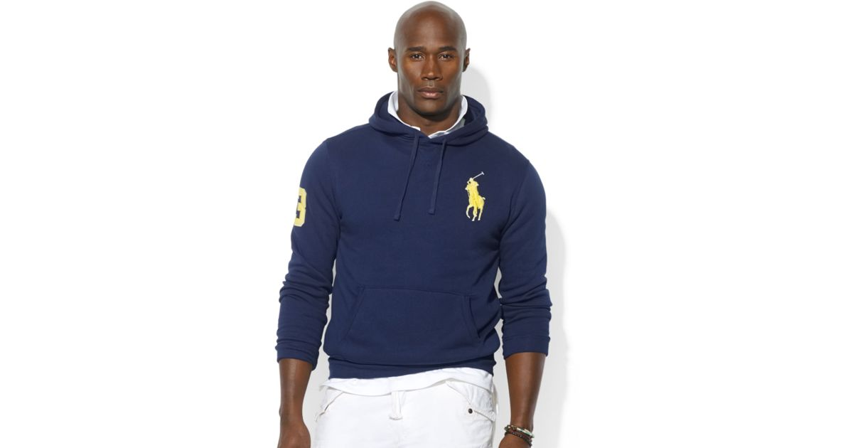 Men\\u0026#39;S Ralph Lauren Big Pony Fleece Pullover