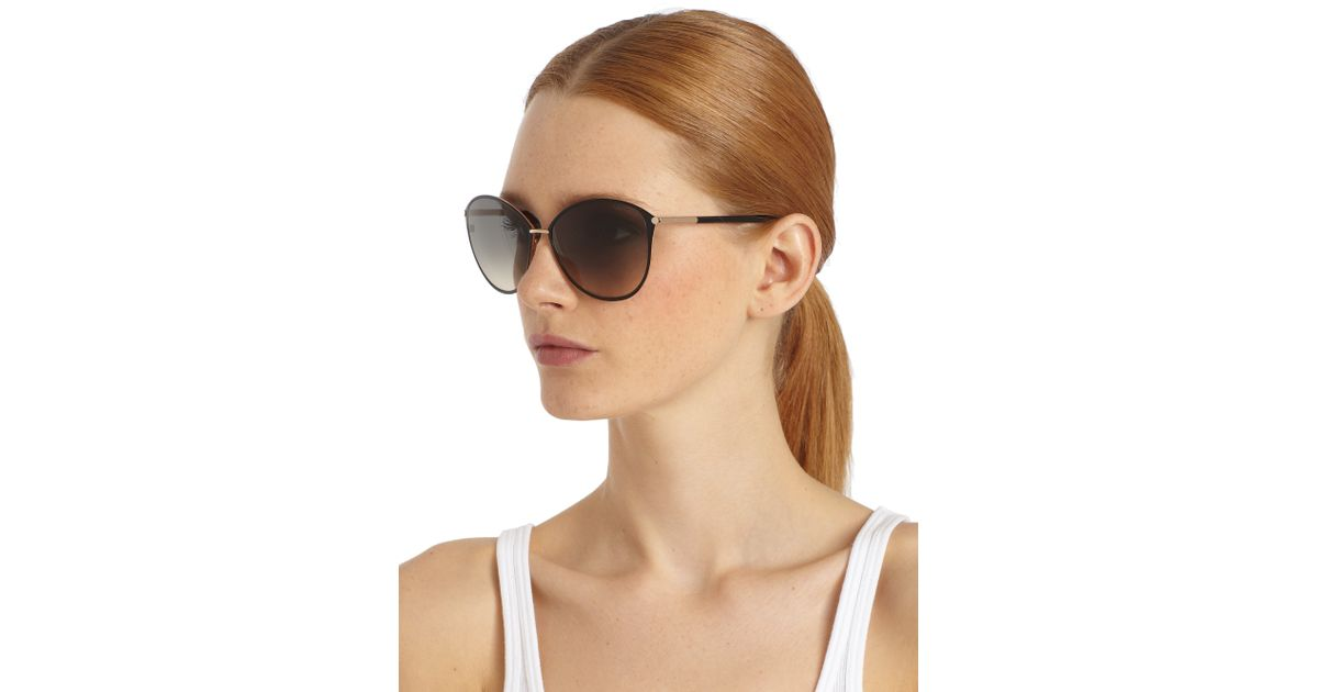 139ad41a0625 Lyst - Tom Ford Penelope Oversized Sunglasses in Black