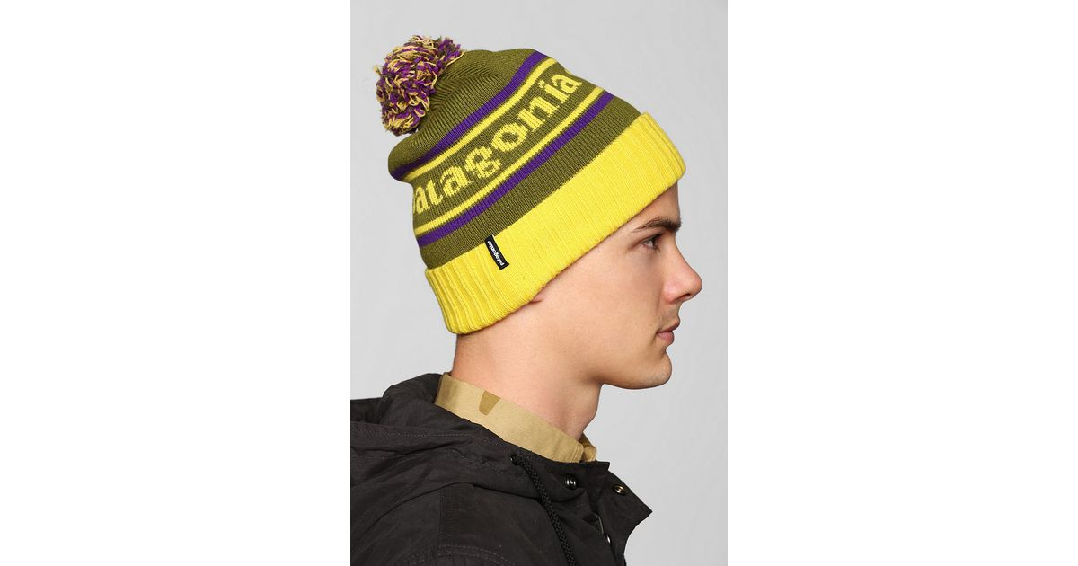 Lyst - Urban Outfitters Patagonia Powder Town Beanie in Green for Men 4b2d69c9211