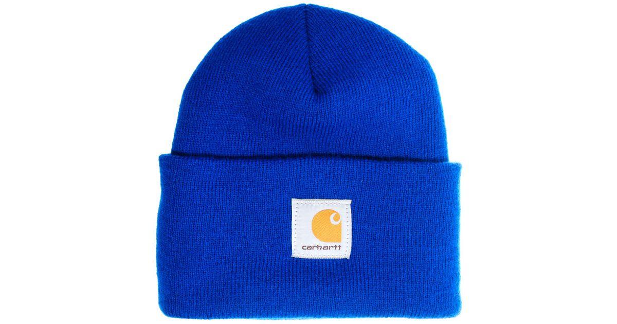 146d129285b Lyst - Stussy Carhartt Acrylic Watch Beanie Hat in Blue for Men