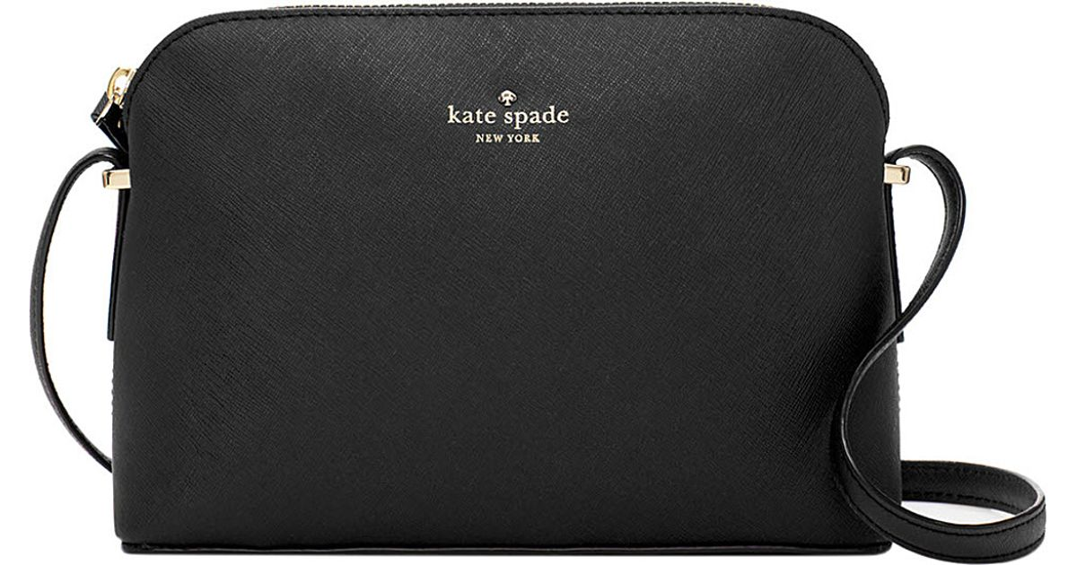 Kate Spade New York Cedar Street Mandy Saffiano Leather Crossbody Bag In Black Lyst