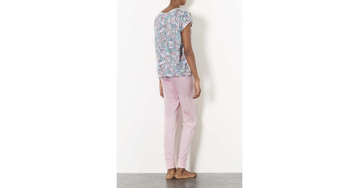 3c80b1cc9ba9 TOPSHOP My Little Pony Pj Set in Pink - Lyst