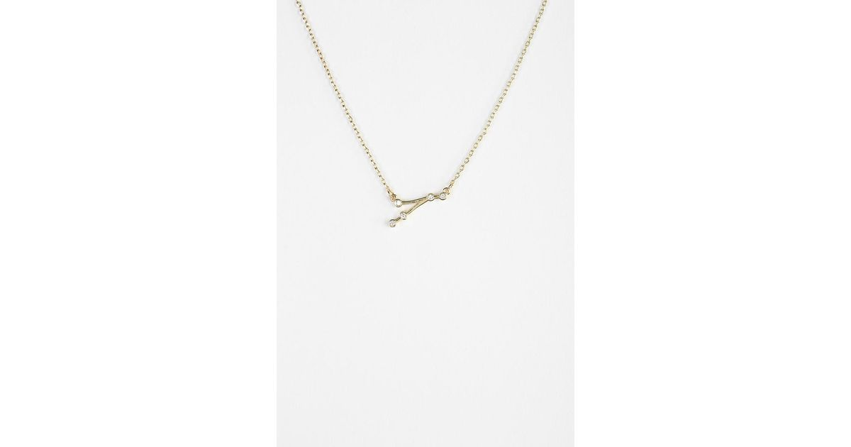 constellation hortense necklace diamond