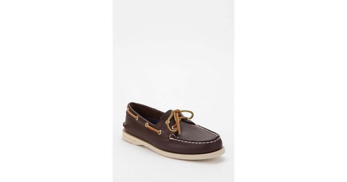10373f71355 Lyst - Urban Outfitters Sperry Topsider 2eye Boat Shoe in Brown for Men