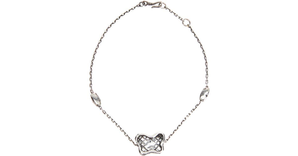 Bottega Veneta claw pendant necklace - Metallic Qk6Raaqg