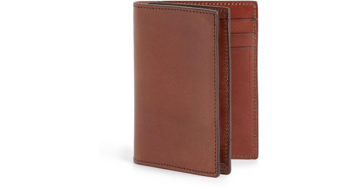 Lyst - Ralph Lauren Equestrian Gusset Card Case in Brown for Men