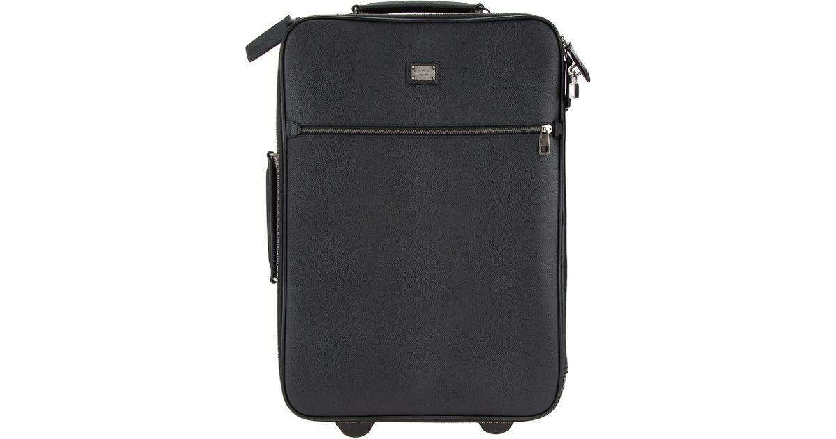 LUGGAGE - Wheeled luggage Dolce & Gabbana XcSHBUoo2N