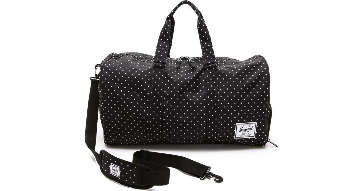 bd31ec0e7be4 Lyst - Herschel Supply Co. Novel Weekender Duffel Bag in Black