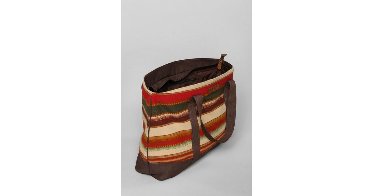 Lyst - Urban Outfitters Pendleton Wool Blanket Tote Bag in Brown for Men 3a5dfc543e875