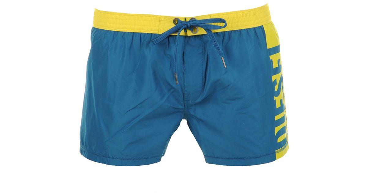 664b51dffa DIESEL Coralrif Swim Shorts in Blue for Men - Lyst