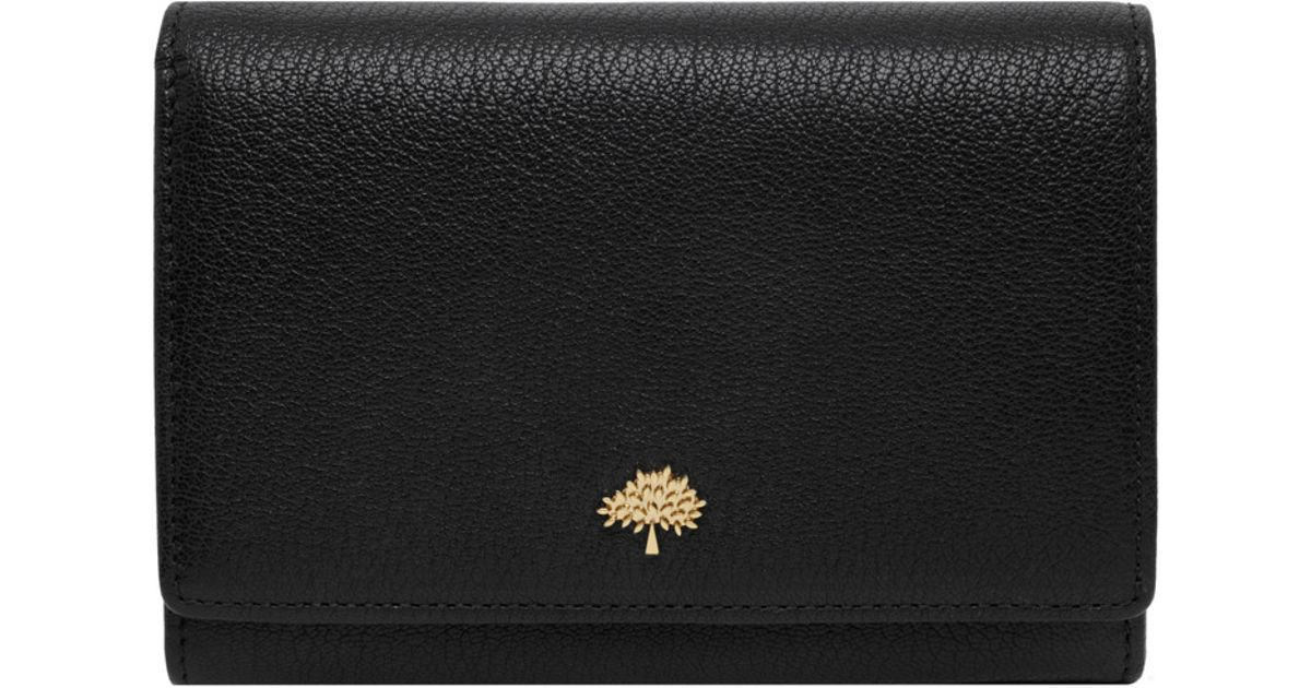 Mulberry Tree French Purse In Black Lyst