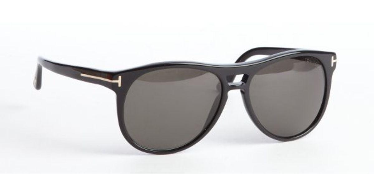 6fd12e7ba620 Lyst - Tom Ford Black Callum Square Sunglasses in Black