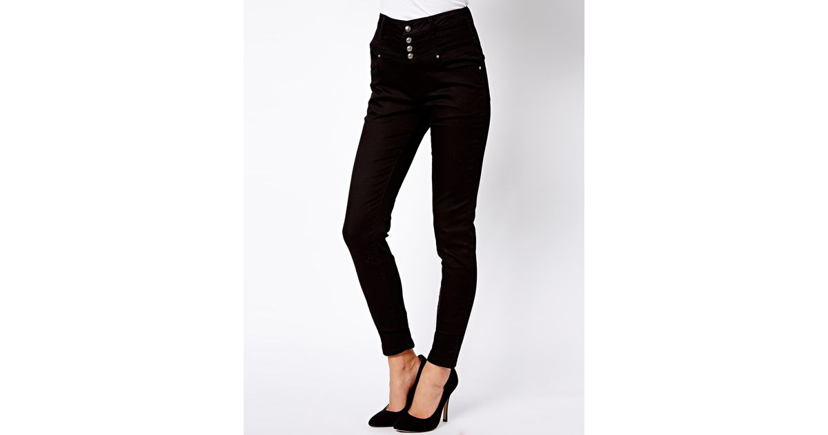 New look high waisted supersoft skinny jeans