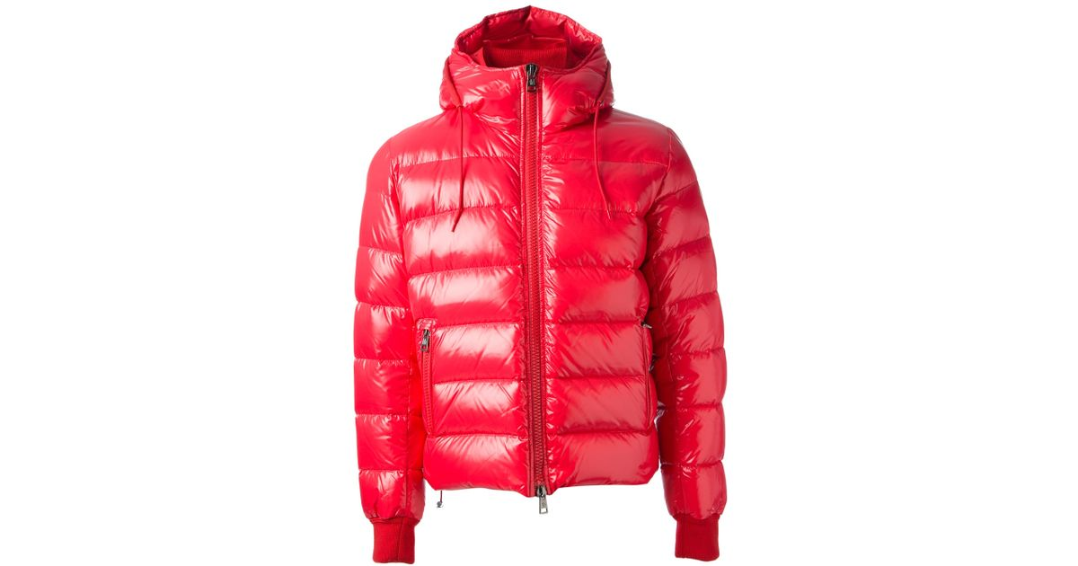 54de60c99ff ... ireland moncler maya padded jacket in red for men lyst 5d106 acde3