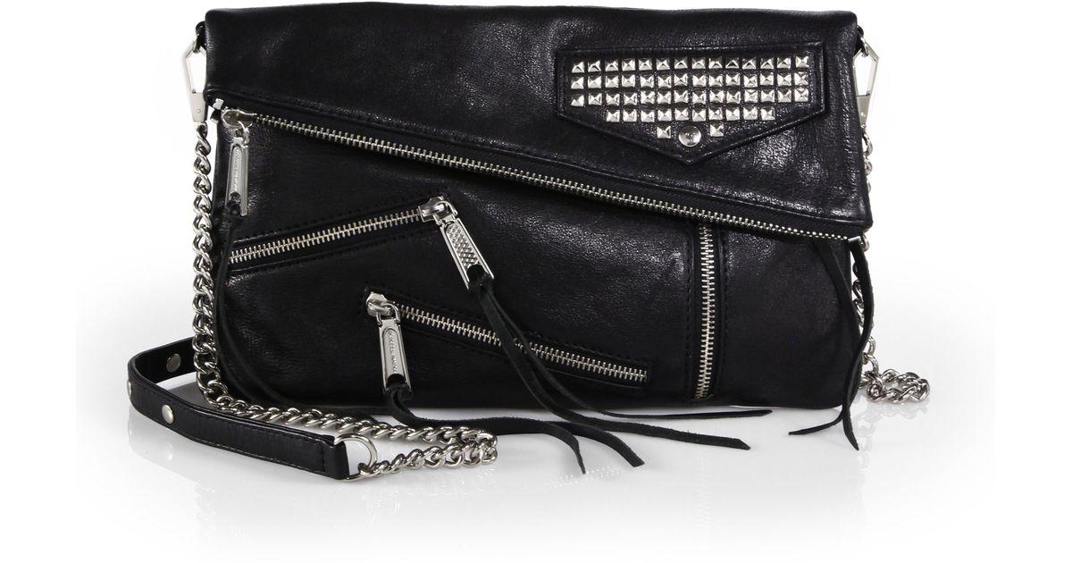 b5f0a951d2 Lyst - Rebecca Minkoff Harper Crossbody Bag in Black