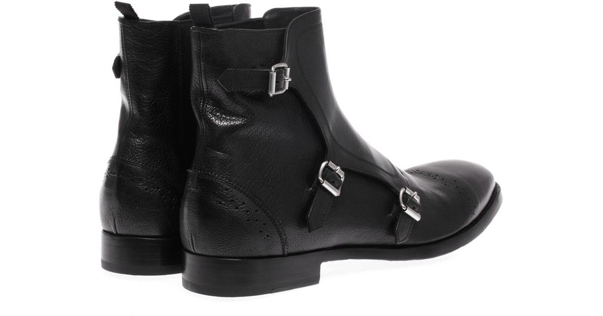 Strap Boots