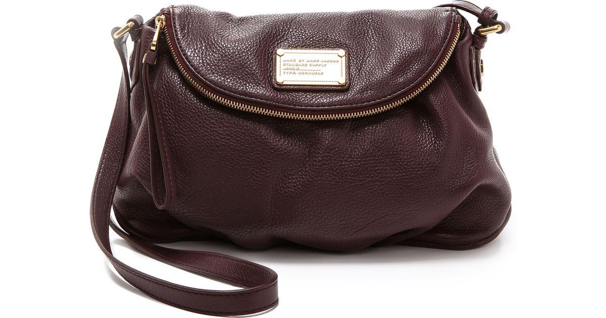 e06d3857fa24 Lyst - Marc By Marc Jacobs Classic Q Natasha Cross Body Bag in Brown