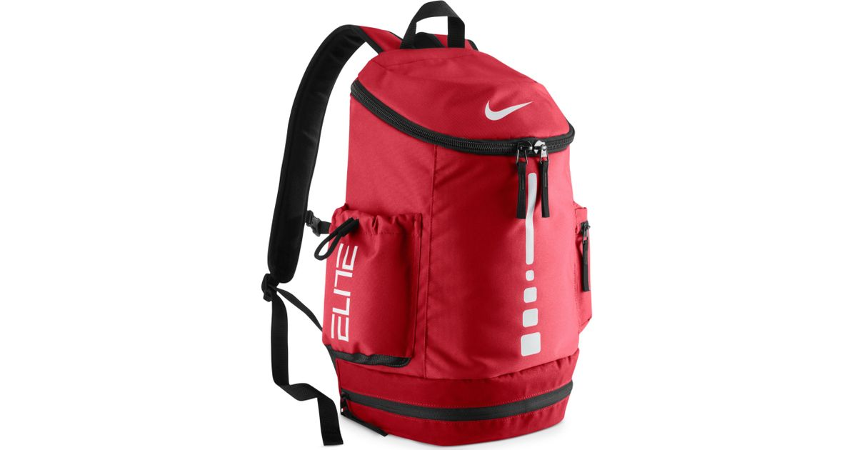 9bd44a6de70a Lyst Nike Hoops Elite Team Backpack In Red For Men