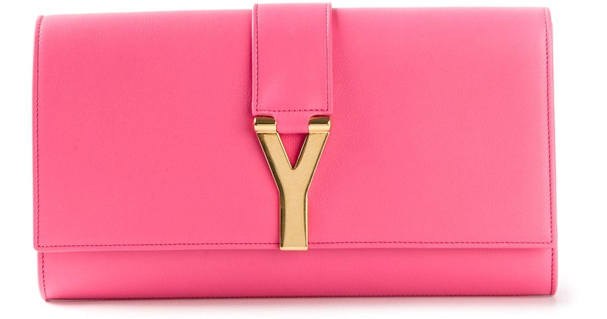 964c0f2b996a Lyst saint laurent cabas clutch in pink jpeg 1200x630 Chyc clutch