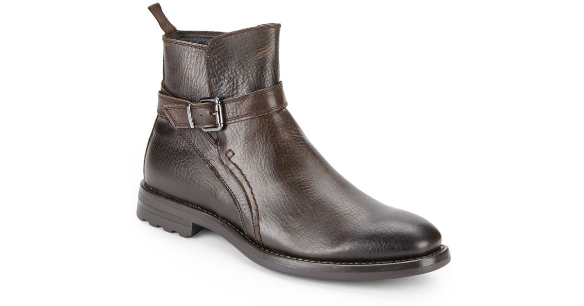 6ba8ca438c8 Lyst - Vince Camuto Carlo Leather Boots in Brown for Men