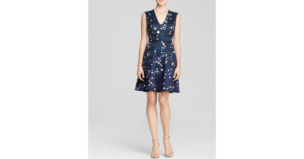 Lyst Cynthia Rowley Dress Bloomingdales Exclusive Bonded Bubble