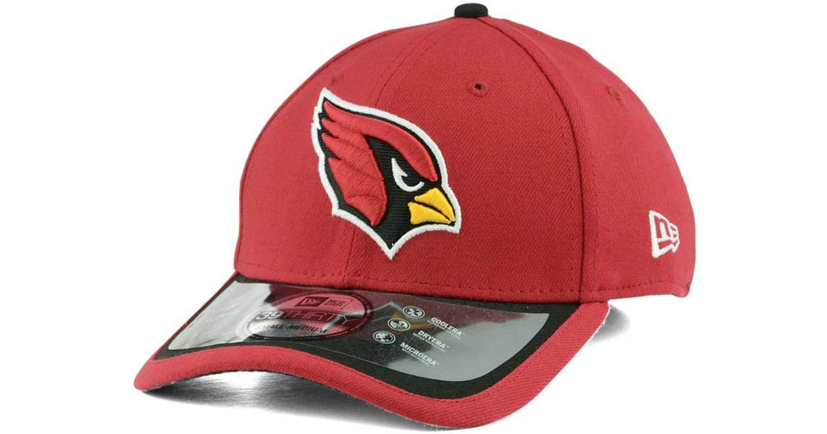ktz arizona cardinals on field 39thirty cap in red for men. Black Bedroom Furniture Sets. Home Design Ideas