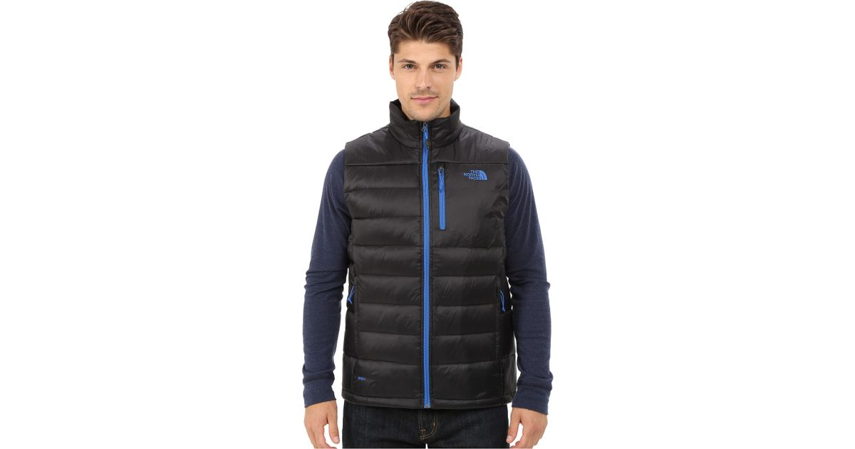 Lyst - The North Face Aconcagua Vest in Blue for Men e93dd5925