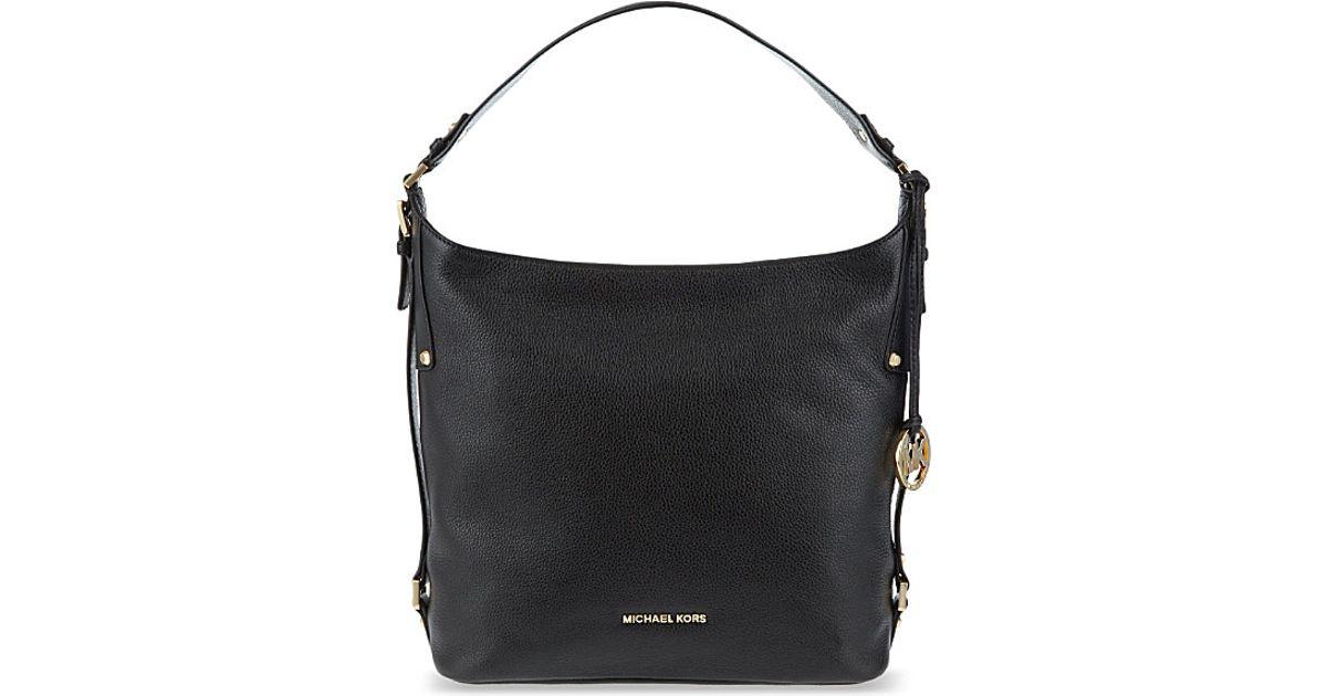 0d37a1385265 MICHAEL Michael Kors Bedford Belted Large Leather Shoulder Bag ...