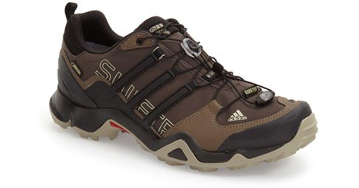 new concept 39845 d7de9 Lyst - adidas Originals Terrex Swift R GTX Gore-tex Hiking Shoe in Black  for Men