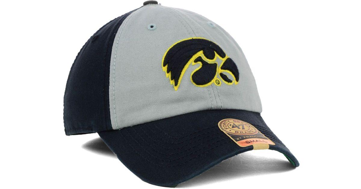 f82941d66208e 47 Brand Iowa Hawkeyes Vip Franchise Cap in Metallic for Men - Lyst
