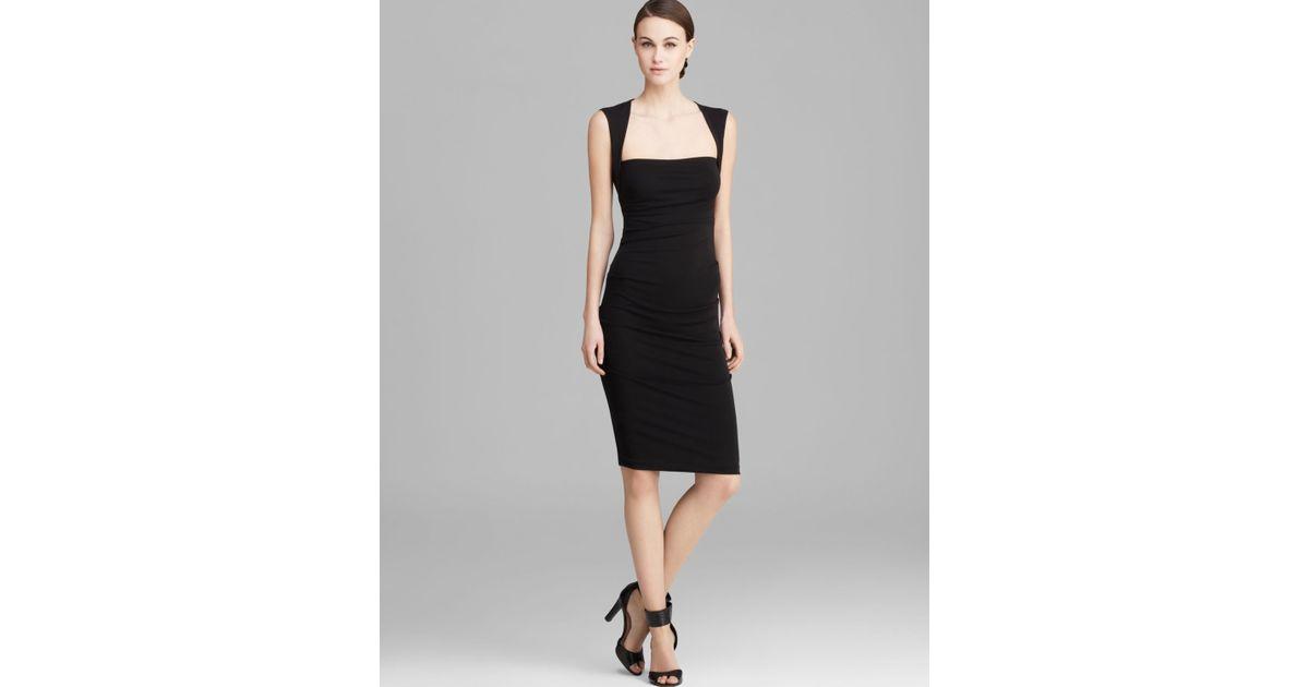 Lyst Nicole Miller Dress Felicity Sleeveless Stretch Matte Jersey