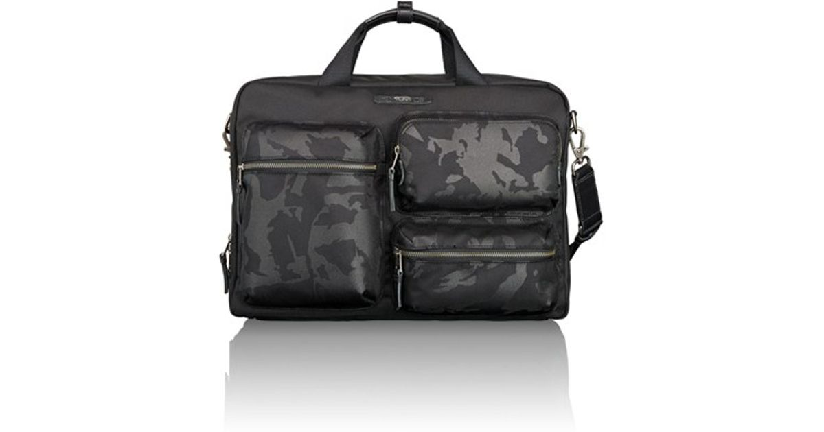 366c6fd4e6b9 Lyst - Tumi  dalston - Tyssen  Double Zip Briefcase in Black for Men