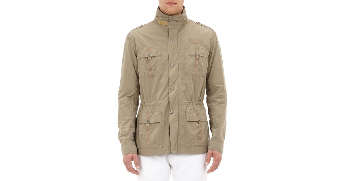 a37ddc253ef Michael Bastian Multi Pocket Military Jacket in Green for Men - Lyst