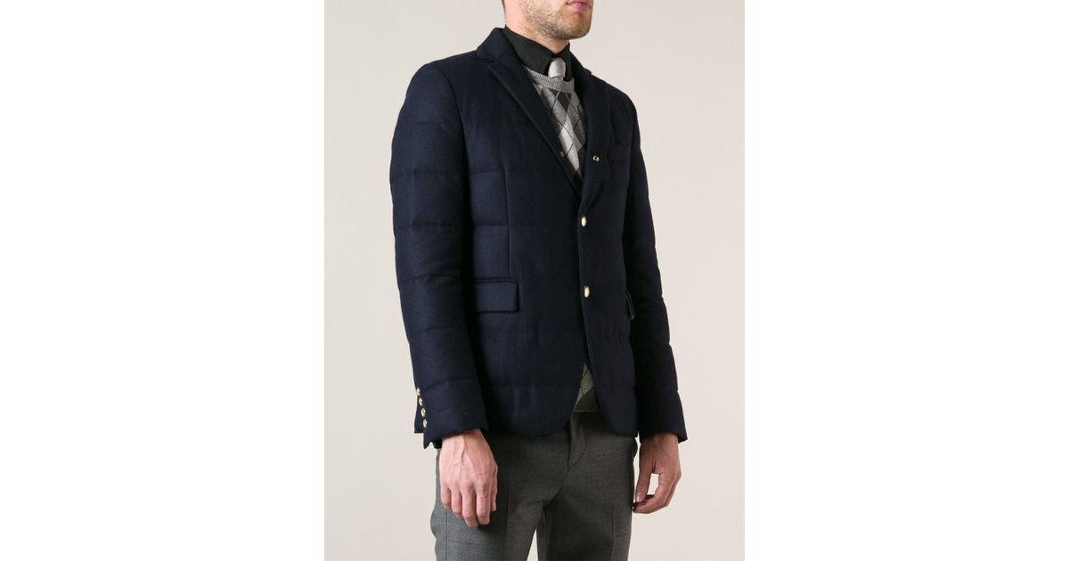 moncler gamme bleu down blazer