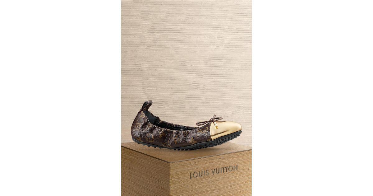 cb81c7a50f94 Louis Vuitton Flirty Ballerina - Lyst