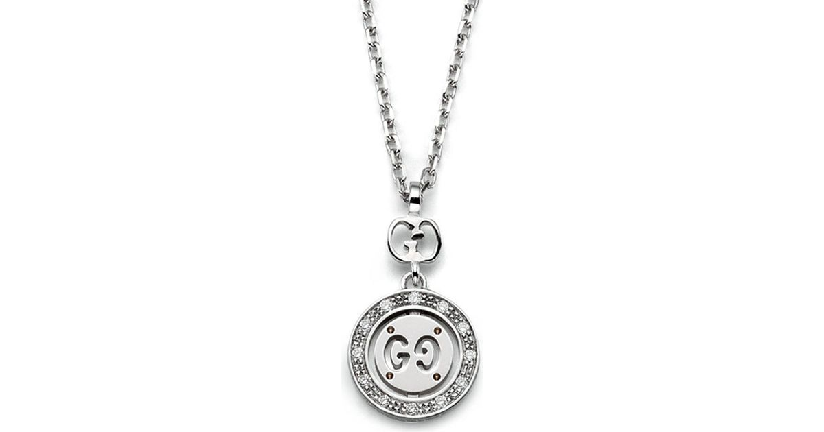 Gucci Icon necklace in white gold OENHi
