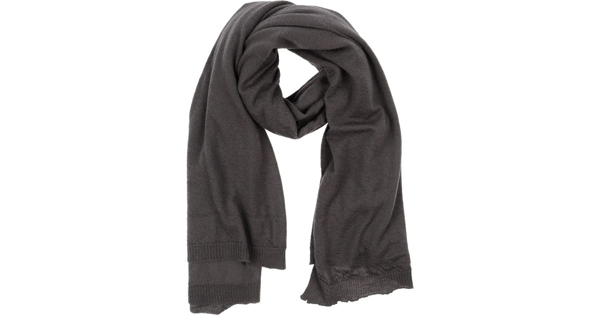 ACCESSORIES - Oblong scarves Rick Owens qFEHl8
