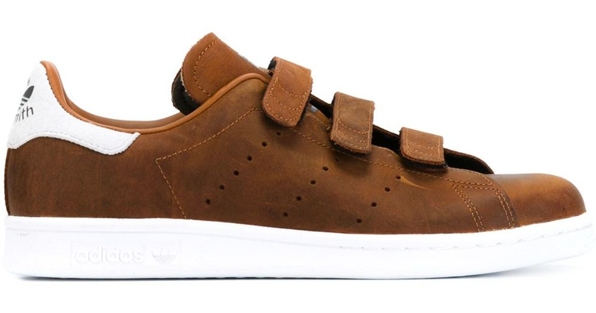 1f9874b86b33c Lyst - adidas Originals  stan Smith Cf  Sneakers in Brown for Men