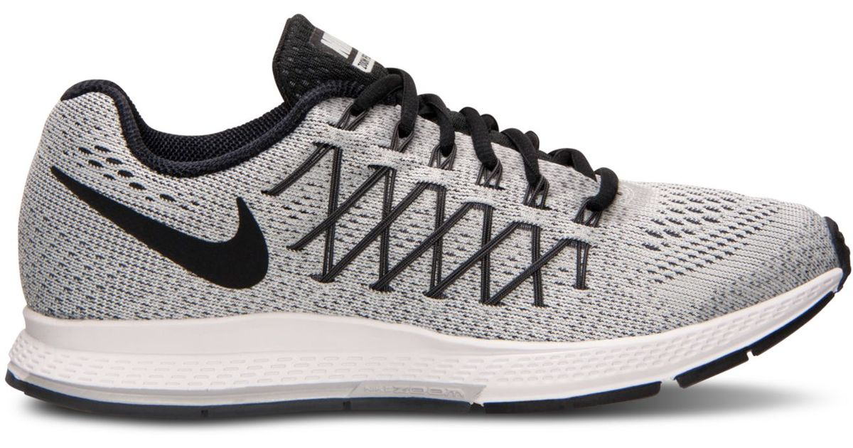 9b1e450b3bcc ... closeout lyst nike womens zoom pegasus 32 running sneakers from finish  line in gray 11d46 5dac6