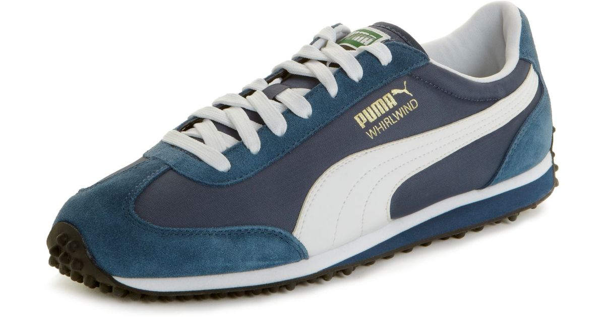 ecfbe5a35eab7d Lyst - PUMA Whirlwind Classic Sneakers in Blue for Men